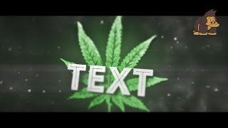 FREE BEST Awesome Sync 3D Weed Intro Template #004 by MonkiiArtZ [C4D&AE]