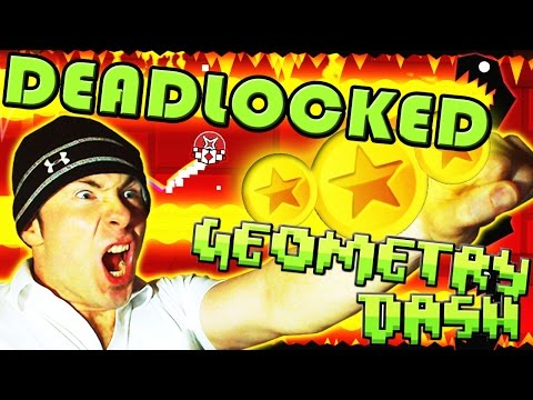 Geometry Dash 2.0 ~ Deadlocked ALL 3 Coins COMPLETE