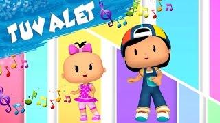 Pepee Çocuk Şarkıları - Tuvalet - Düşyeri