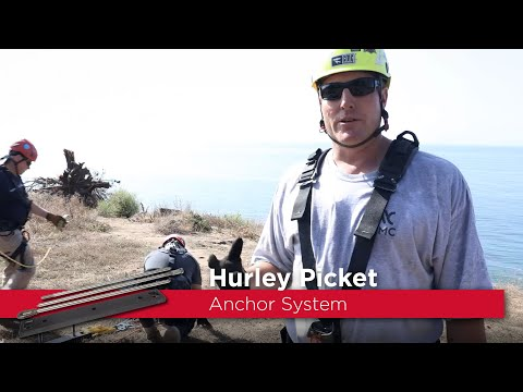 Hurley Picket Anchor System
