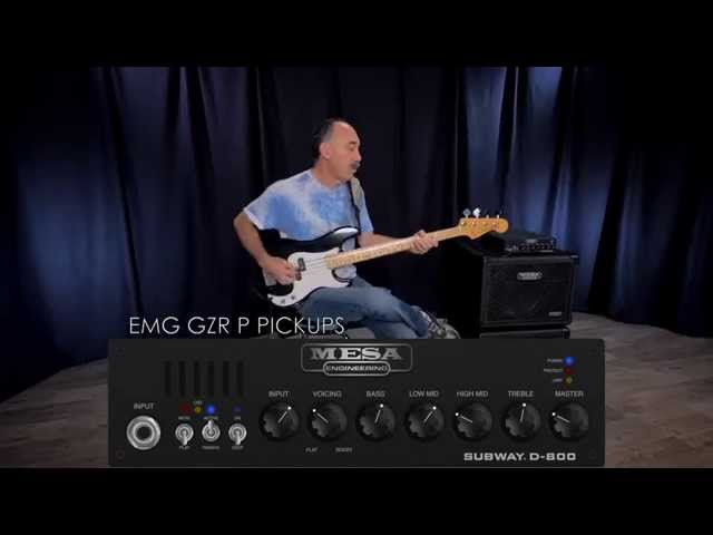 MESA® Subway® D-800™ Bass Amp & Ultra-Lite 1x15 – P-Bass Picked w/ Bobby Vega