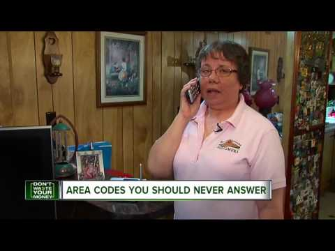 Area codes you should never answer