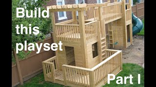 Myfixituplife: Real Wood Real Fun Playset Edition Part I