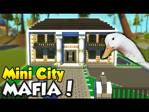 "MINI CITY [EP. 9] - ""Mafia and Bank Robbery!"" - Scrap Mechanic Community Build!"