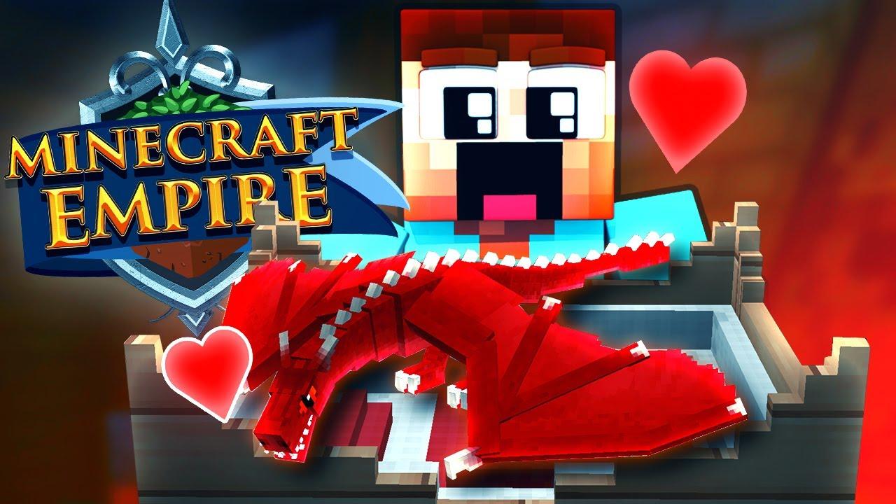 DRACHI ZIEHT EIN Minecraft EMPIRE YouTube - Minecraft empire spielen