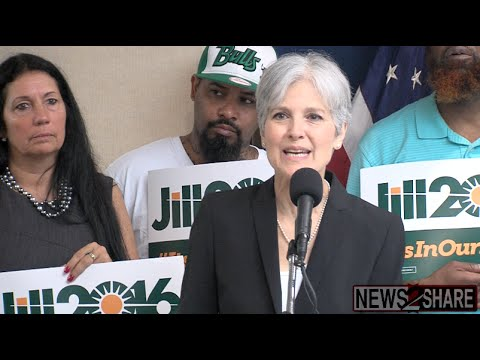"""Jill Stein: """"People Cringe"""" at Names of 2016 Candidates"""