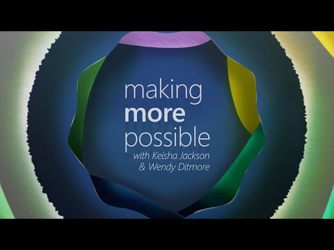 Making more possible video podcast - Episode 2