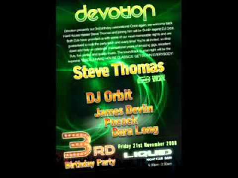 Steve Thomas Live @ Devotion 3rd Birthday