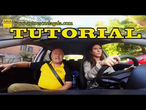 Autoescuela Gala: Clase Práctica De Conducir Tiempo Real. Autoescuela Gala. Carnet De Conducir