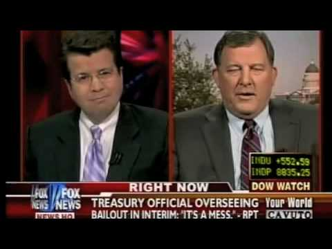 Chris Cannon (R-UT) Bombs on Fox re Bailout Oversight