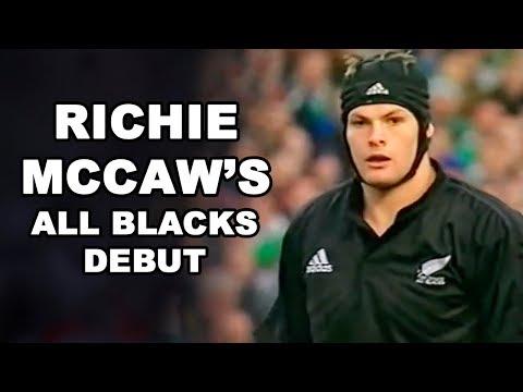 Richie McCaw's All Blacks Debut