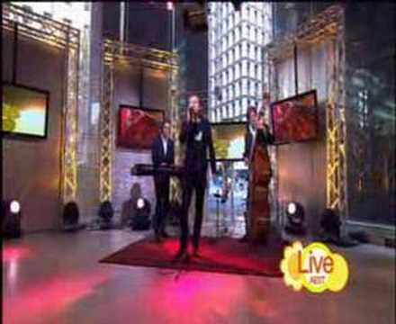 Damien Leith Baby I Love Your Way Morning Show