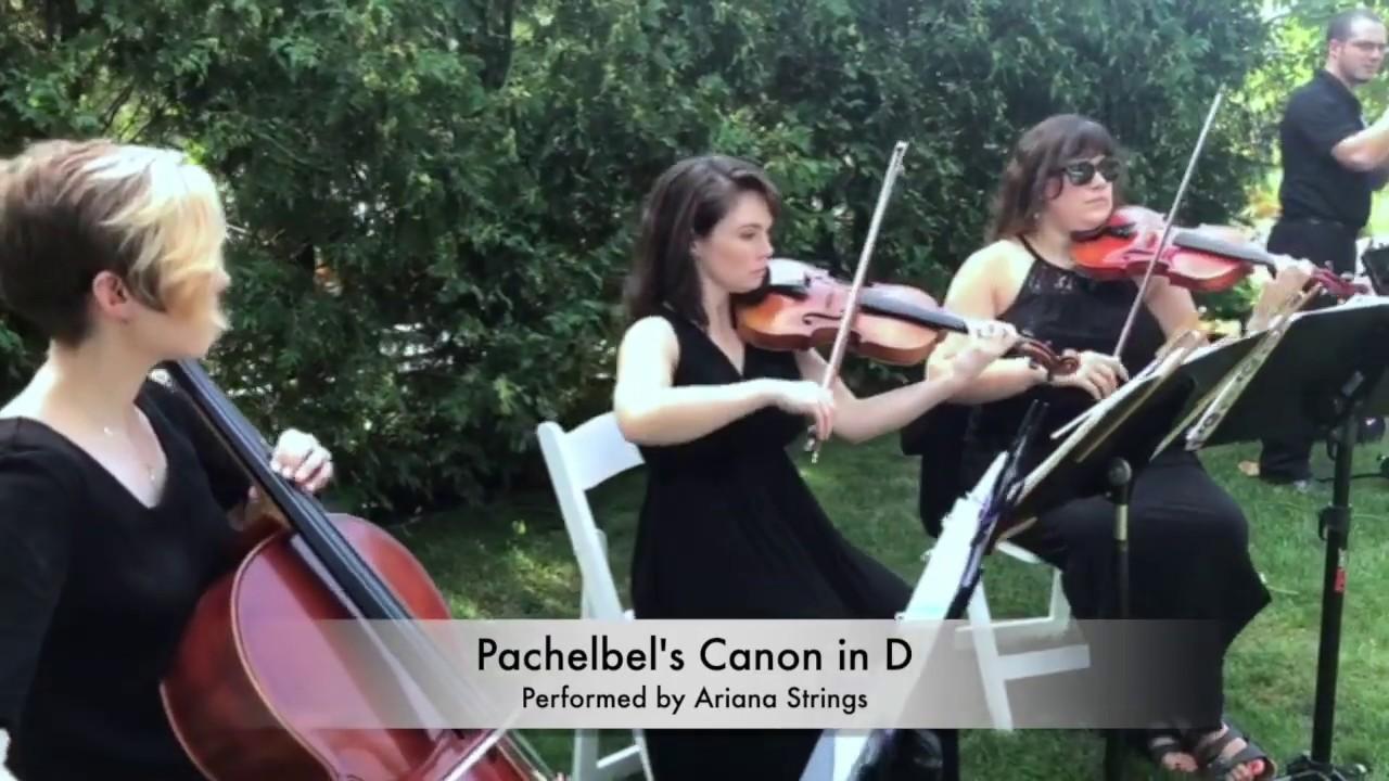 Pachelbel's Canon in D - String Trio
