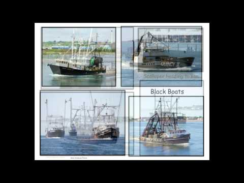 Commercial Fishing Boat collages, Northeast
