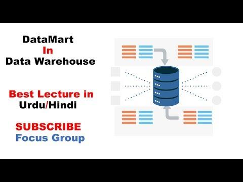 Datamart In Data Warehouse || Lecture In Urdu/Hindi