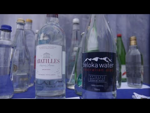 World sommeliers judge the quality of... water in Ecuador