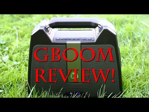 G-Boom Review - Best Bluetooth Speaker Under $100!