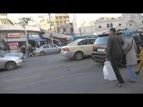 Downtown Amman Traffic
