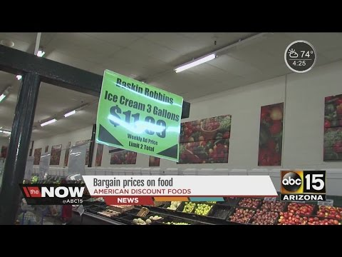 Smart Shopper: Bargain Prices On Food