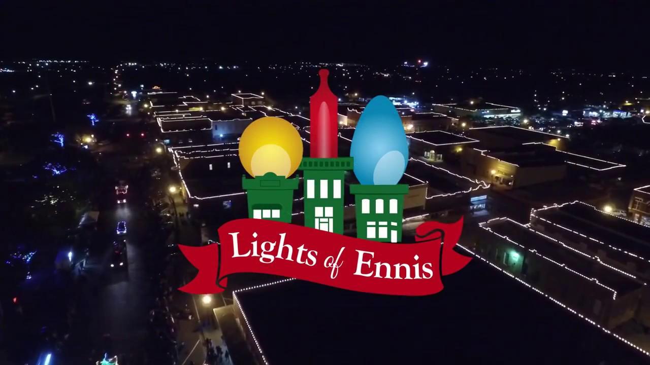 Christmas City Vet.Lights Of Ennis Christmas