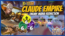 CLAUDE EMPIRE 3 STAR | (666) TRIPLE SIX COMBO - 6 ELF 6 ASSASSIN 6 EMPIRE | MAGIC CHESS