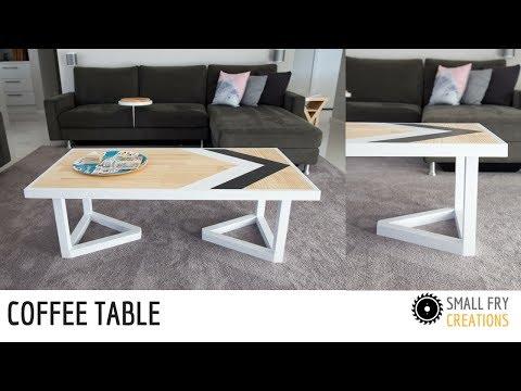Modern Coffee Table   DIY