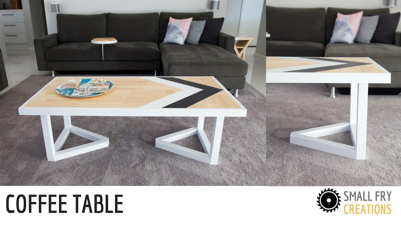 Diy Contemporary Coffee Table Easy