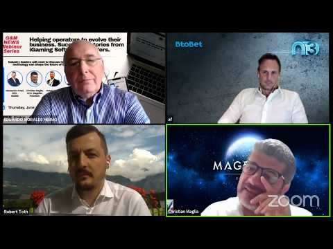 G&M Webinar Series #8. iGaming Software Providers. 'Helping operators to evolve their business.' from YouTube · Duration:  1 hour 43 minutes 21 seconds