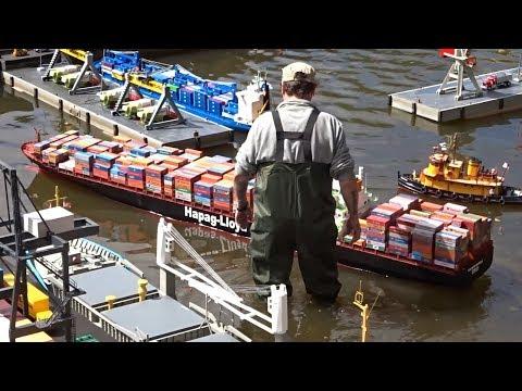 RC Schiffe & RC Boote mit Hafen