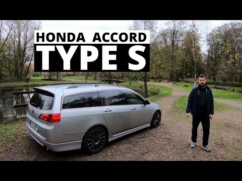 Honda Accord Type S - tatowóz na sterydach
