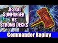 Jeskai Sunforger vs Strong Decks - 8 & Half Tails, Niv Mizzet, Jodah
