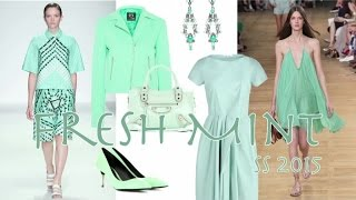 Video FRESH MINT Fashion Trend Spring 2015 by Fashion Channel download MP3, 3GP, MP4, WEBM, AVI, FLV Agustus 2018