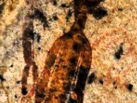 10.000 Year Old Rock Paintings Depicting UFO-ALIENS