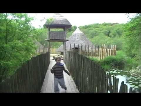 Meet Ancient Ireland- The Crannog At Craggaunowen Heritage Museum, County Clare