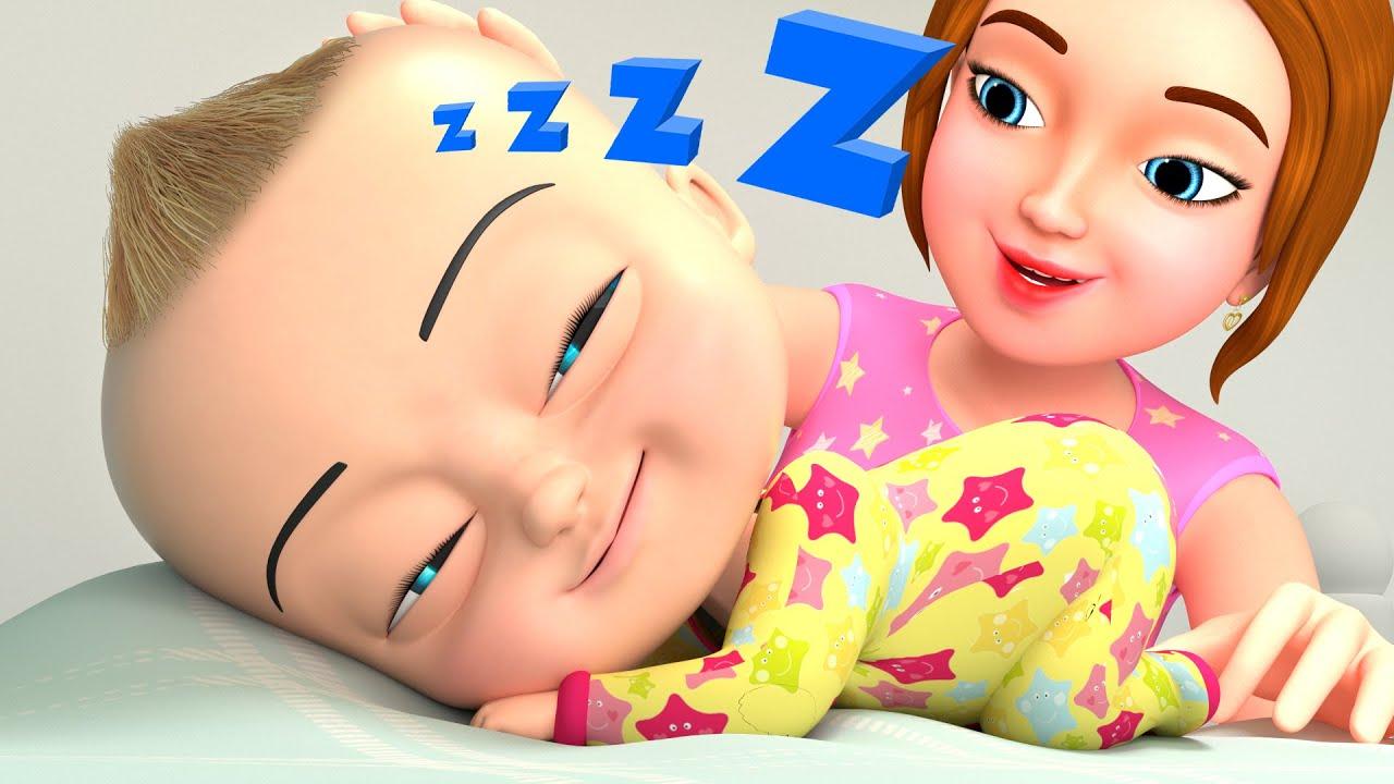 बेबी स्लीप सॉन्ग 👩👧 BillionSurpriseToys - Hindi Rhymes for Children