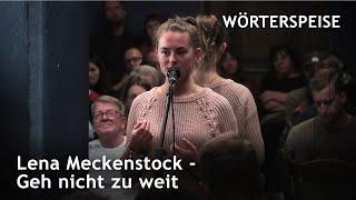 Lena Meckenstock – Geh' nicht zu weit