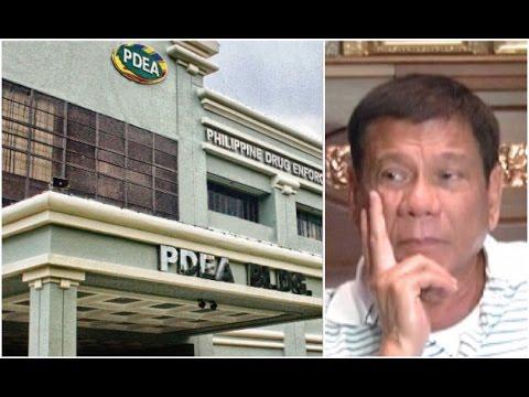 Duterte, planong buwaging ang PDEA