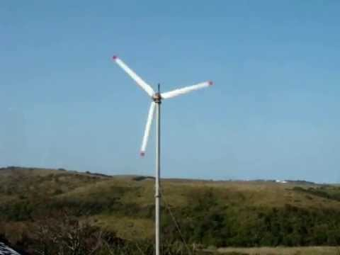 Wind Turbine erected at my office in Mount Moreland South Africa