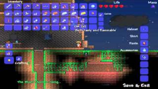 Terraria Episode 7 - The Blood Moon is Rising! Time to...