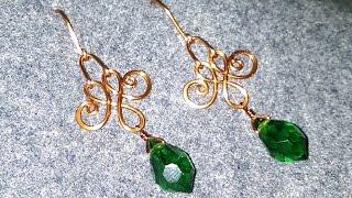 Simple earring for beginners - Handmade jewelry 24