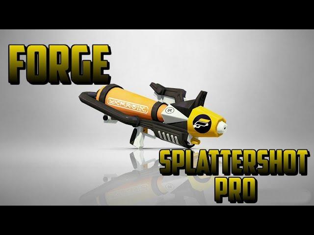 Splatoon 2 New Weapon: Forge Splattershot Pro