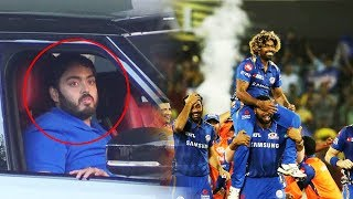 Ambani's Spotted At Airport After MUMBAI INDIANS Wins IPL 2019