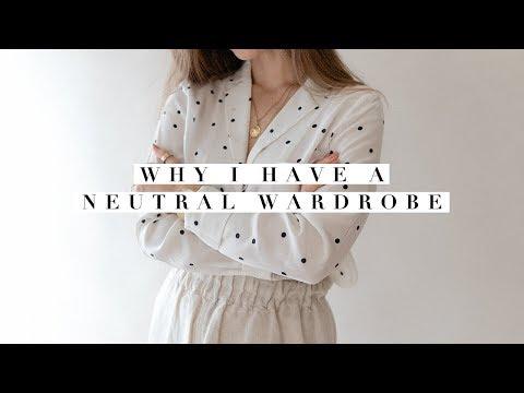 Basic Neutral Wardrobe  Why I Stick To A Minimal Clothing Style & Closet