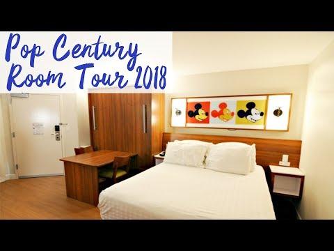 Disney's Pop Century Resort Refurbished Room Tour 2018 | Walt Disney World
