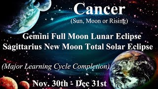 ♋️Cancer ~ Evolving Beyond The Shadow That Held You Back! ~ Eclipse Reading