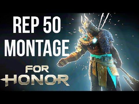 [For Honor] REPUTATION 50 RAIDER MONTAGE