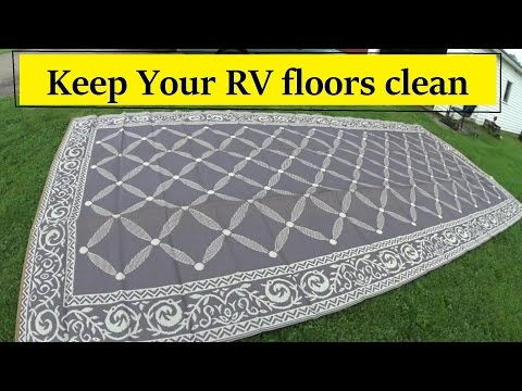 new-rv-reversible-awning-mat-review