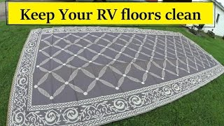 NEW RV reversible Awning Mat review