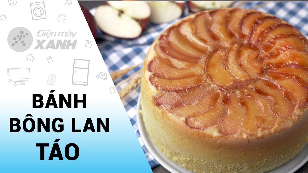 Cách làm bánh táo bằng NỒI CƠM ĐIỆN   Vào bếp cùng Điện máy XANH