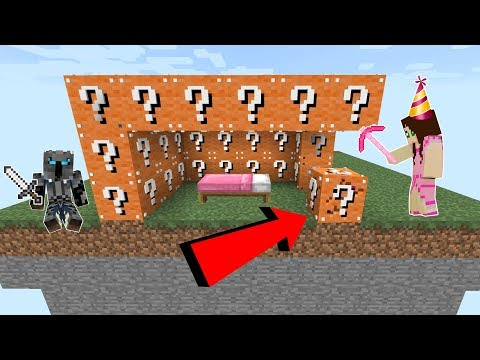 Minecraft: PARTY LUCKY BLOCK BEDWARS! - Modded Mini-Game